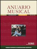 Portada de Anuario Musical